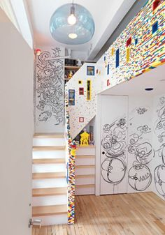 Cool Boys Room Design Ideas: Lego Inspired Cool Boys Room Design Ideas ~ interhomedesigns.com Bedroom Inspiration