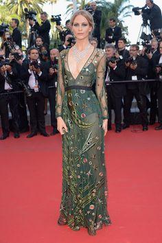 Poppy Delevingne au Festival de Cannes