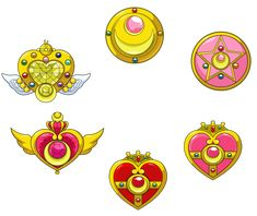 SAILOR MOON (EXTRA) - Broche (MakeUP) by JackoWcastillo