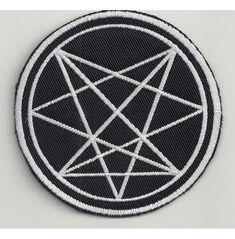 Laveyan Satanism, Demonology, Back Patch, Evil Spirits, Occult, Angles, Really Cool Stuff, Embroidered Patch, Patches