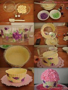 "МК """"Шоколадная корзина"" -How to Make Chocolate Basket - Мастер-классы по украшению тортов Cake Decorating Tutorials (How To's) Tortas Paso a Paso"