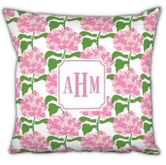 Boatman Geller Monogrammed Sconset Pink Pillow Circle Monogram, Monogram Fonts, Monogram Letters, Pink Pillows, Throw Pillows, Personalized Graduation Gifts, Towel Wrap, Masculine Style, Coral Blue
