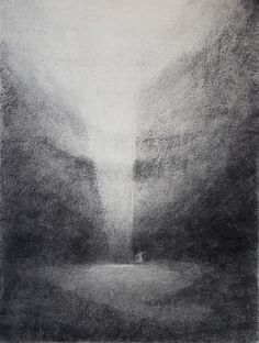 Shading and tone both unite in this piece to represent shadowing, light and texture through charcoal.