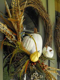 Susie Harris: Stickin,Pickin DIY Fall Wreath