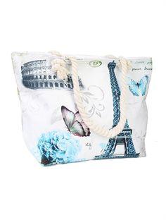 Beach Tote Bags, Purses And Bags, Gym Bag, Tower, Closure, Zip, Canvas, Shoulder, Tela