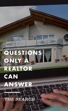 Contrary to popular belief, *everything* isn't on the internet, like for example, the years of expertise, instinct and knowledge a realtor can provide.
