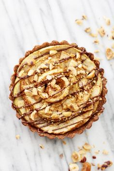 Hazelnut Apple Tarts: Jessi's Kitchen