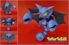 Paperpokés- Pokémon Papercrafts: GLISCOR