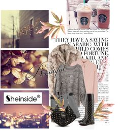 """""""AUTUMN / WINTER In SHEINSIDE"""" by ladymargaret ❤ liked on Polyvore"""