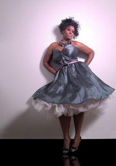 JIBRI Plus Size Moonlight Sweetie Dress