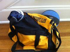 Baseball bag.
