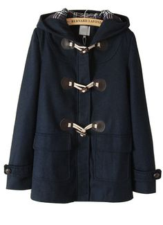 Navy Toggle Coat