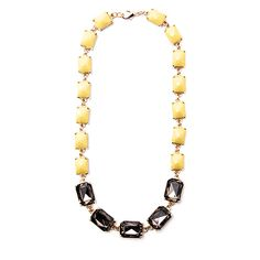 Crystal and Stone Statement Necklace by W/A Studios from WA Studios on OpenSky