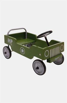 Retro jeep-shape play car!