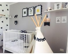 Monochrome Nursery Decor
