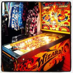 The Tommy Pinball Machine