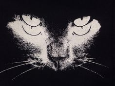 Black Cat patch Punk Patch Horror Black by OneHandPrinting on Etsy