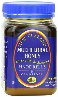 Haddrell's of Cambridge Multifloral Honey, 1.1 Pound Bottles (Pack of 2) -- Discover this special product, click the image