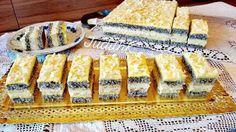 Vanília krèmmel töltött mákos sütemèny - Ez Szuper Vanilla Cake, Food And Drink, Sweets, Ethnic Recipes, Poppy, Good Stocking Stuffers, Candy, Goodies, Poppies