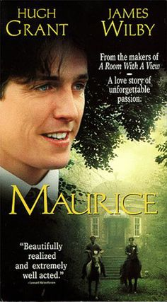 Maurice Why Maurice is a must-see: Boys will be boys, and so was a young Hugh Grant. Good Movies On Netflix, Good Movies To Watch, Great Movies, See Movie, Movie List, Movie Tv, Period Drama Movies, Period Dramas, Series Movies