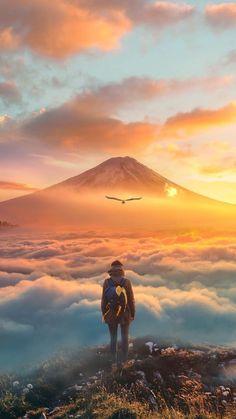 😍😍 Mount Fuji Mountain in Japan. 😍😍 Mount Fuji Mountain in Japan. Christmas Vibes, Travel Source by iaminlovewithnature Ankara Nakliyat