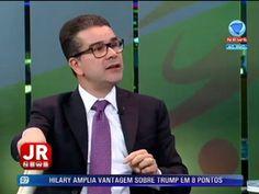 Jornal da Record News recebe o advogado Igor Santiago