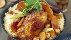 Couscous poulet merguez traditionnel : découvrez les recettes de cuisine de Femme Actuelle Le MAG