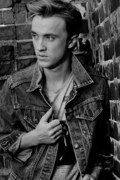 Tom Felton. 'nough said. Seriously though if you follow his twitter, you will fall in with him even more.