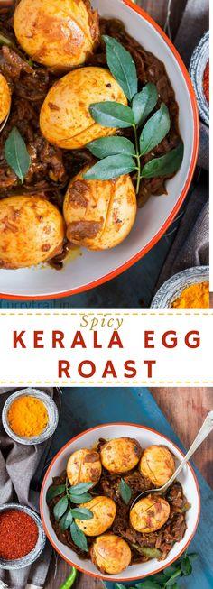 Kerala style egg curry pinterest pin
