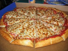 Pizza Hut Cheese Pizza | Nice fresh, hot Pizza in space. Should be a cinch right?