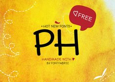 PH from Fontfabric is a handmade multifaceted font system consisting of different font weights (96!) and types of condensation. #FreeFont from http://ortheme.com