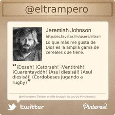 @eltrampero's Twitter profile courtesy of @Pinstamatic (http://pinstamatic.com)