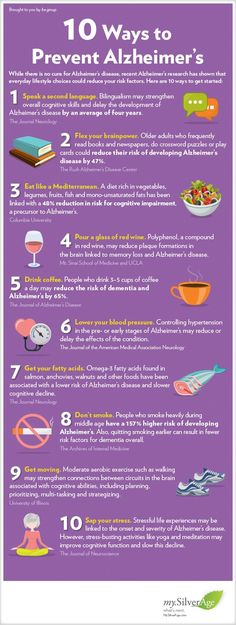 HEALTHCARE  Diet to lose weight  10 Ways to Lower Your Alzheimers Risk