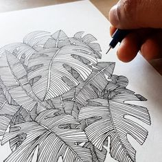 """2,590 Likes, 10 Comments - Love Objects (@love_objects) on Instagram: """"Spending a bit of time today playing with leaf patterns. It demands quite a bit of concentration…"""""""