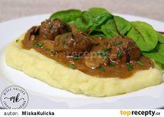 salisburske kulicky Tacos, Beef, Ethnic Recipes, Food, Red Peppers, Meat, Essen, Meals, Yemek
