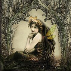 Ethereal Fae by Romany Soup Art Fairy Pictures, Crafts With Pictures, Fairies Photos, Vintage Photos Women, Flower Fairies, Fairy Art, Altered Art, Altered Images, Beautiful Artwork