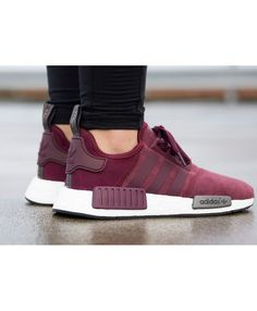9d2df81cd252 Newest Adidas NMD Womens Fashion Shoes Sale UK T-1802 Adidas Nmd Maroon