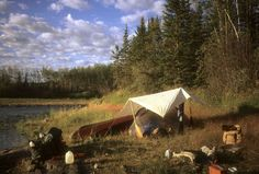 Julie Buckles: Tarpin' in Canoe Country