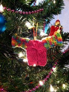 Mrs. Weasley's Sweater Ornament