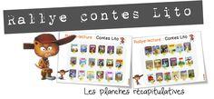 Rallye lecture contes Lito : Pinocchio | Bout de Gomme