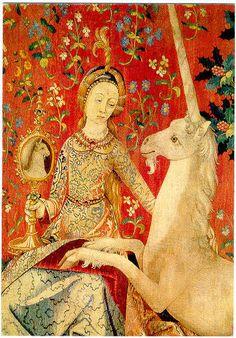 Dame à la Licorne, tapisserie, Musée de Cluny