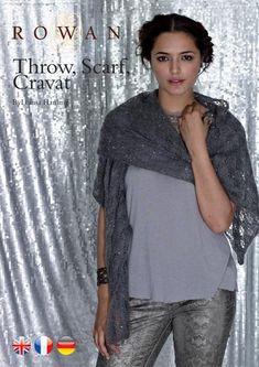 Free Pattern: Throw, Scarf, Cravat by Louisa Harding