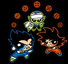 Dragon Puff Z | $10 Powerpuff Girls and Dragon Ball Z mashup tee from TeeFury today only!