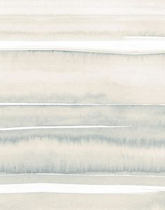Sea - Hazy Sky - Artisanal Wallpaper from The Wallpaper Collective