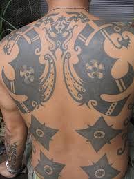 Iban Tattoo Design #Iban #Dayak #borneo #tattoos #Sarawak