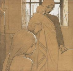 Frederick Cayley Robinson (1862-1927) A Polar Bear's Tale