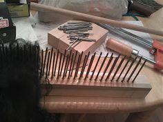 Diy hackle and combs