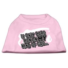 Mirage cat Products 16-Inch My Kind of Gas Screen Print Shirts for cats, X-Large, Light Pink >> You will love this! More info here : Cat Apparel