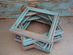 Distressed Wooden Picture Frames