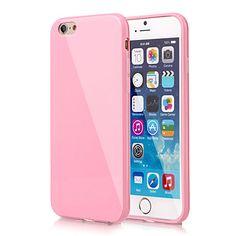 grande couverture de gel de silice d douce pour iPhone 6 / 6s (de couleurs assorties) de 2015 à €1.89
